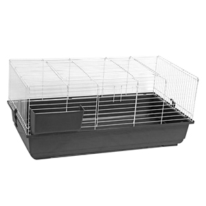 Rabbit-Cage-100x56x45-Dark-Grey-(RB100)