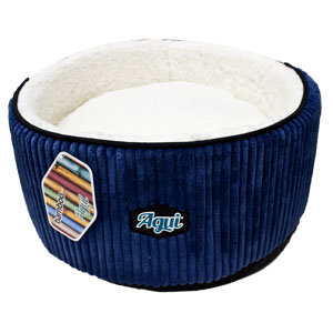 AGUI-Bamboo-Round-Bed-45x20cm-Blue-(944028)