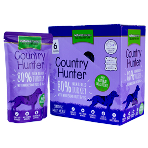 Natures-Menu-Dog-Country-Hunter-Farm-Reared-Turkey-With-Wholesome-Fruit-amp-Vege-150g-Inner/6-(CHDPT)