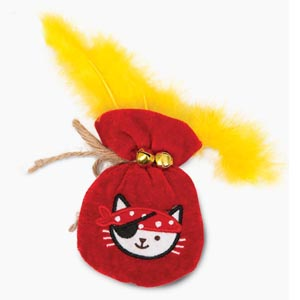 Catit-Play-Pirates-Catnip-Toy---Pouch-of-Gold-(42483)