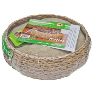 PP-Cat-Bed-With-Paper-Rope-and-Pillow-(PP2124Z)