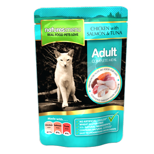 Natures-Menu-Adult-Cat-Chicken-Salmon-amp-Tuna-100gm-12-per-Inner-(31641)