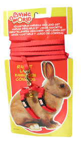 Living-World-Rabbit-Harness-amp-Lead-Set-Red-(60855)