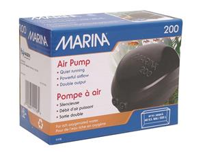 Air-Pump-Marina-200-Twin-Outlets-Suitable-For-125---225-Ltr-Aquariums-(11116)